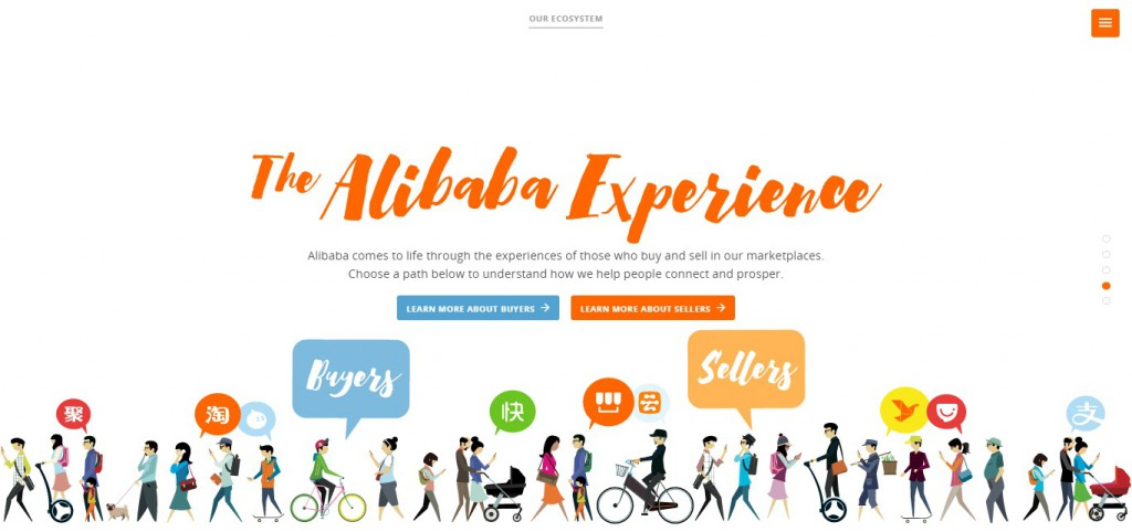 自社への理解を深めるため、アリババグループがデジタル体験サイトを公開