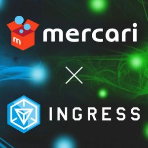 メルカリ、Ingressと提携 二次創作物の公式販売開始
